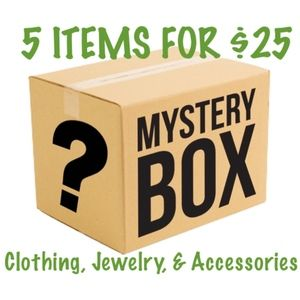 Mystery Box: Clothing, Jewelry, & Accessories